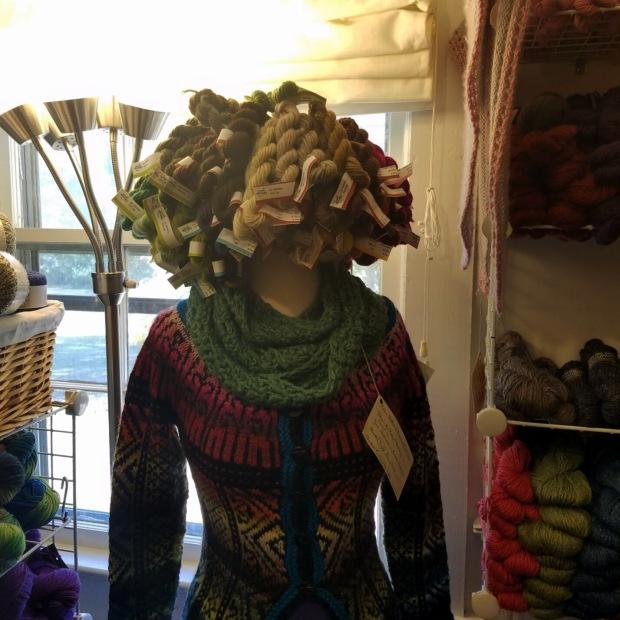 Three Things Thursday: Yarn Hair | Ms. Emily's Home for Full-Grown Nerds