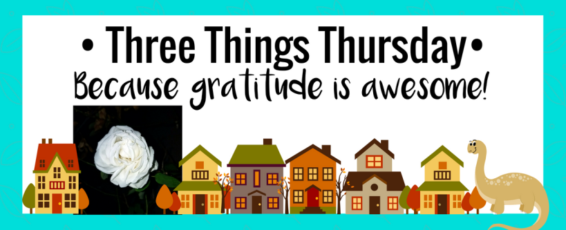 Three Things Thursday: Thanksgiving 2016 | Ms. Emily's Home for Full-Grown Nerds